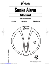 kidde smoke alarm manual 1235ca