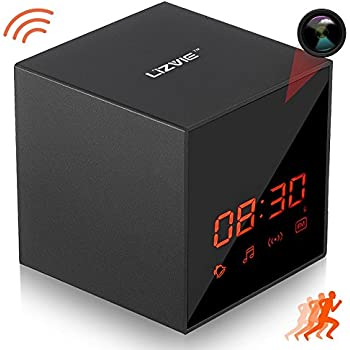 720p wifi clock camera with audio manual