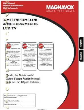 manual for phillips tv model 42pfp5332d 37