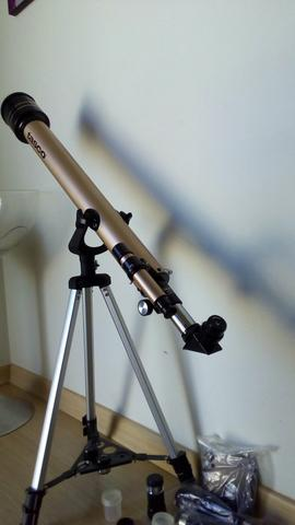 tasco luminova 660 power refractor telescope manual