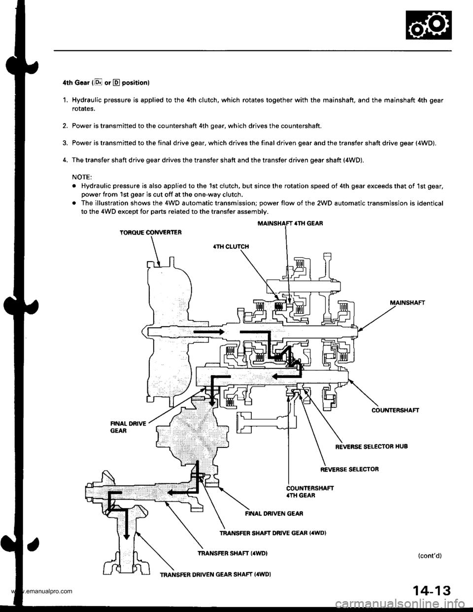 1998 honda crv workshop manual