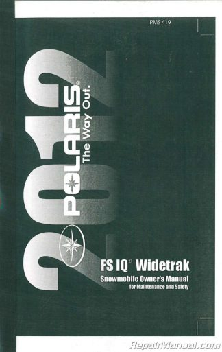 1999 polaris xlt touring owners manual