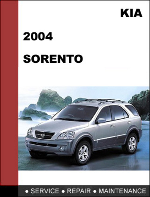 2003 kia sorento factory service manual
