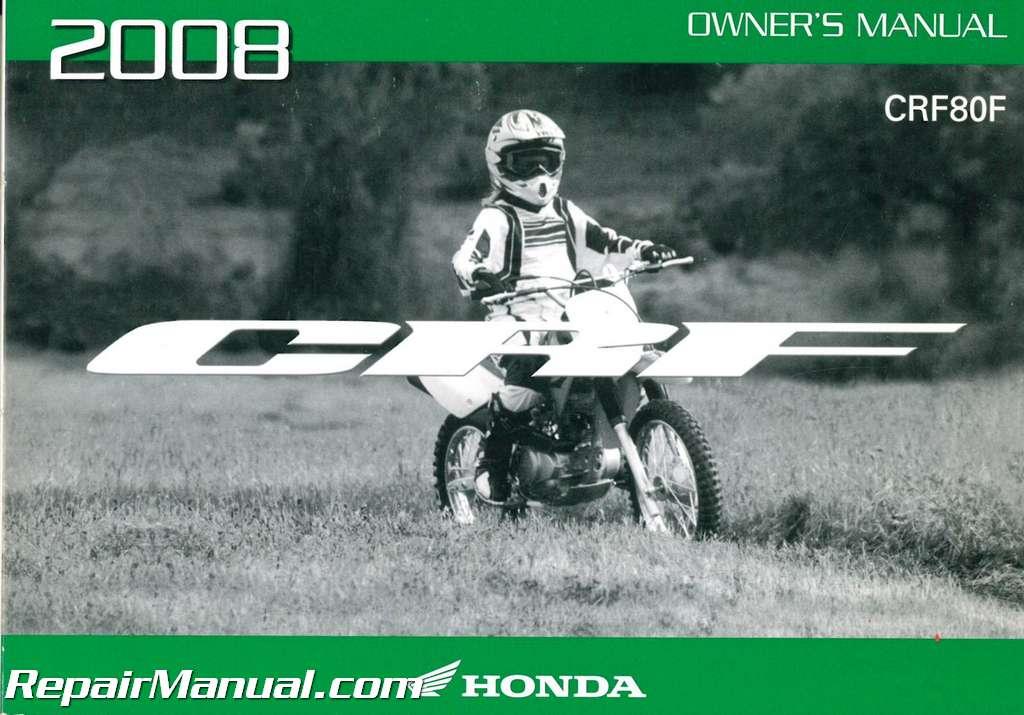2004 honda crf80f service manual