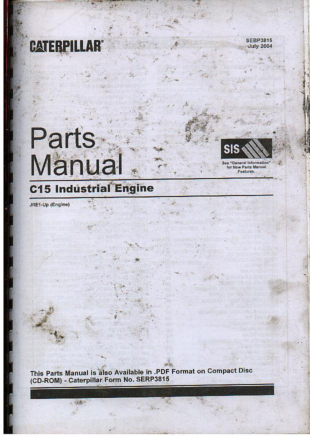 c15 cat engine manual download