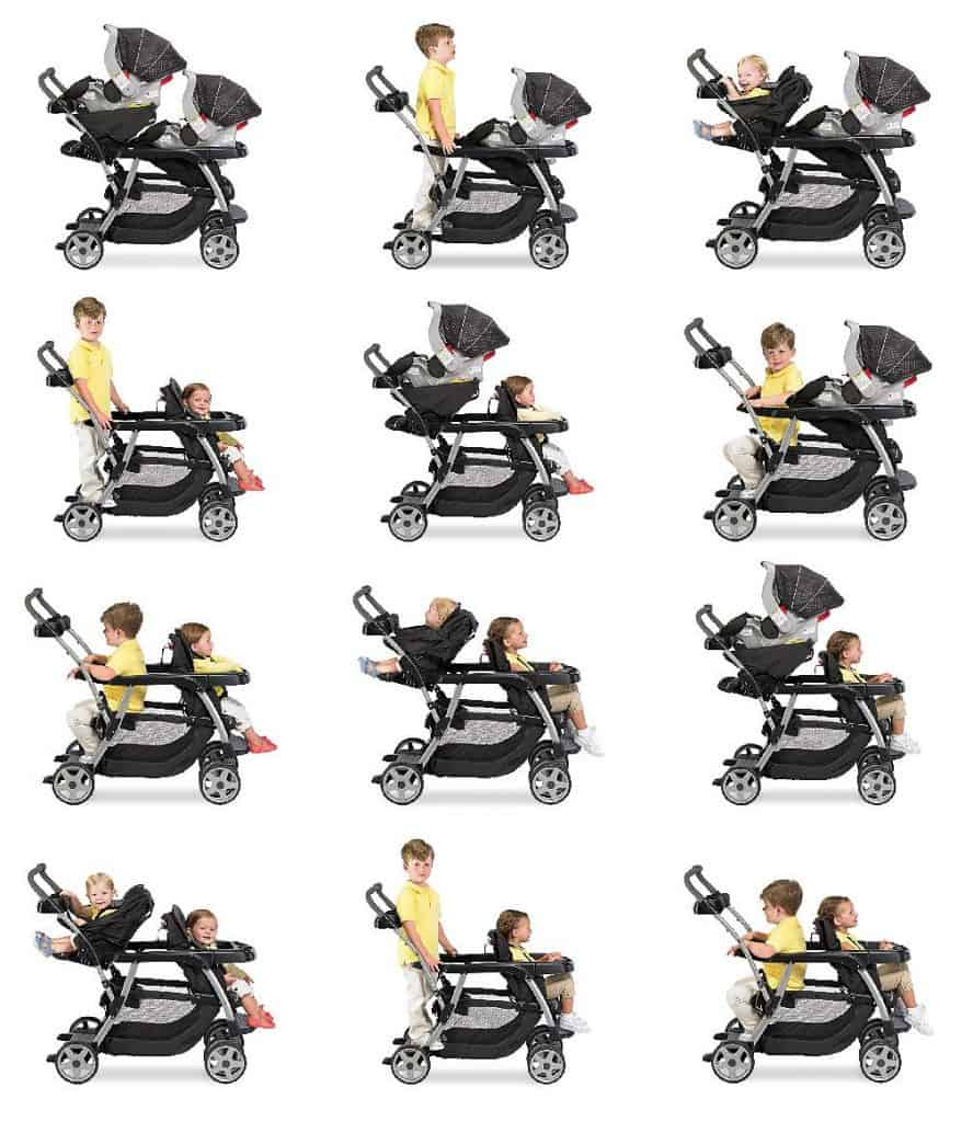 baby trend sit n stand plus double stroller manual