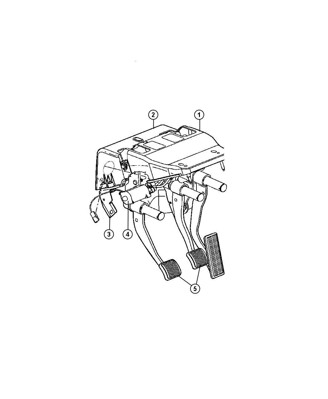 dodge ram 1998 manual transmission bracket