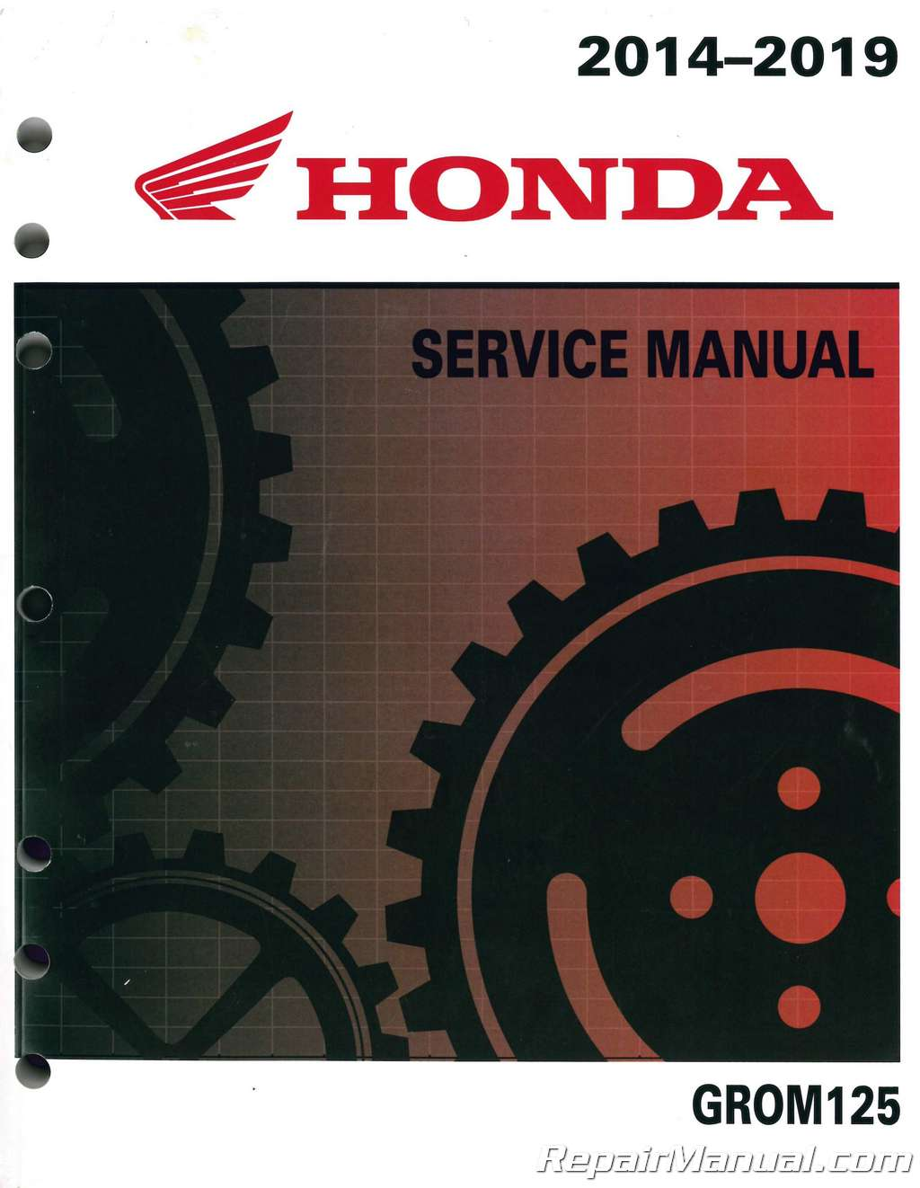 honda civic service manual 2017