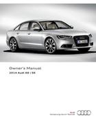 audi a6 owners manual pdf 2014