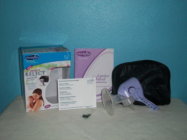 evenflo manual breast pump troubleshooting