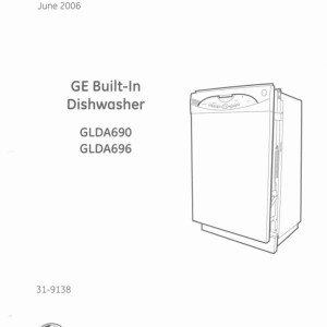 ge dishwasher gdf640ssf0ss owners manual