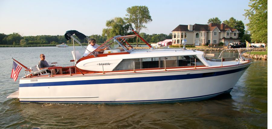 chris craft constellation owners manual