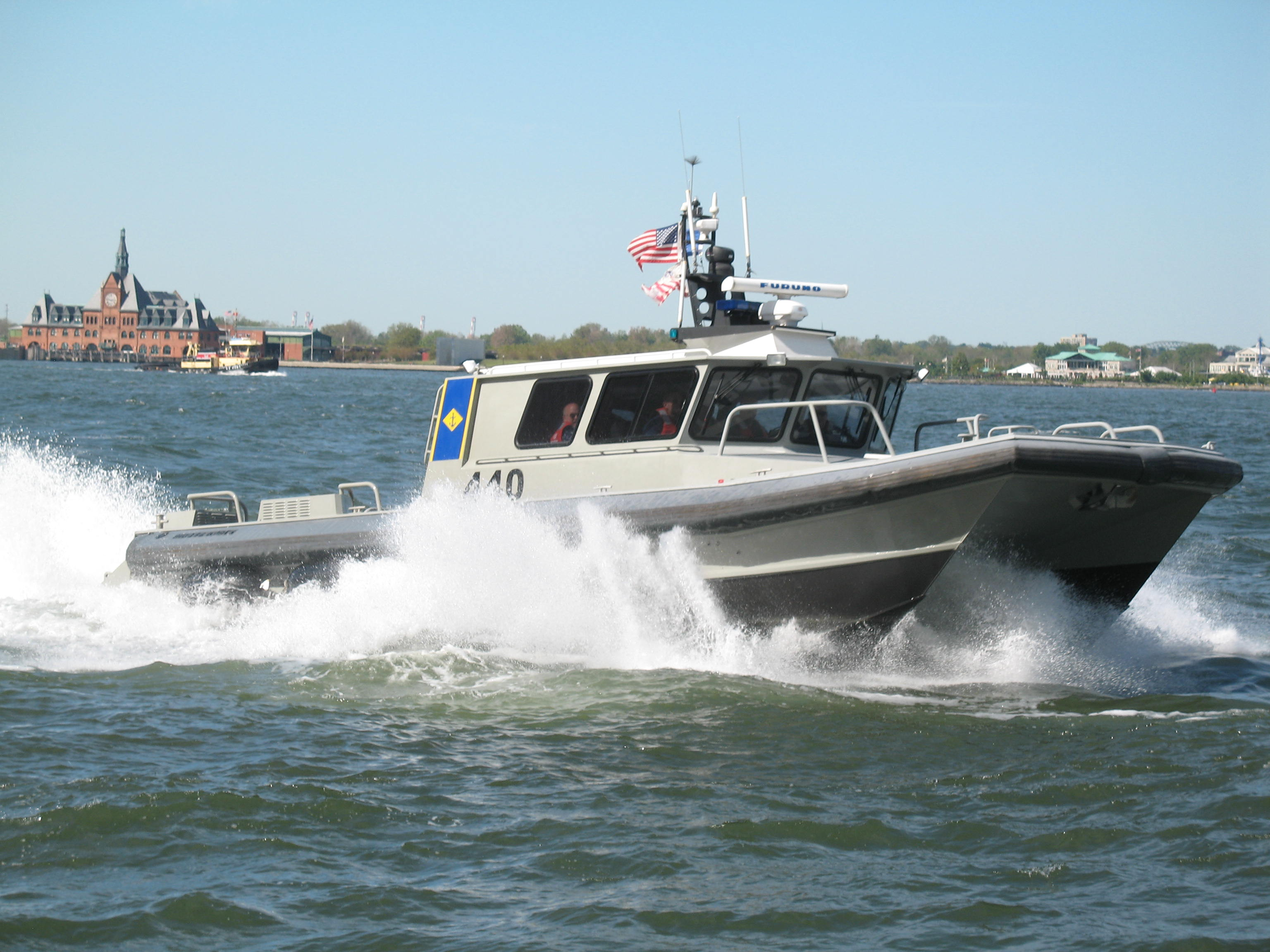 military police force protection vessel boat manuals
