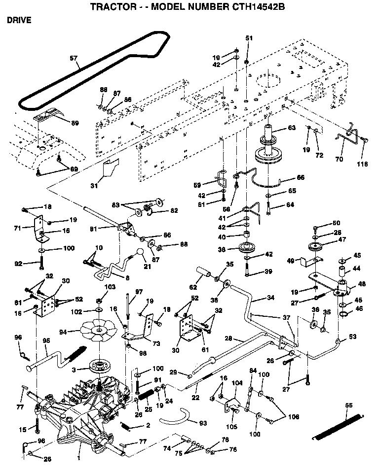 42 2-stage snow thrower manual lift