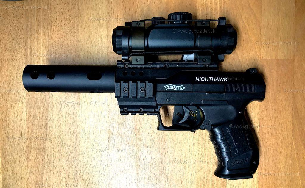 walther nighthawk air pistol manual