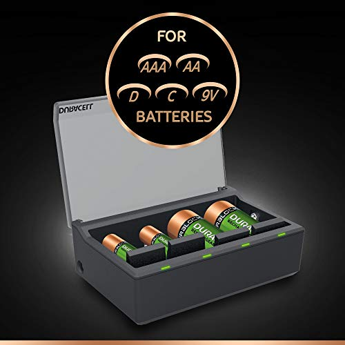 duracell multi battery charger cef22 manual