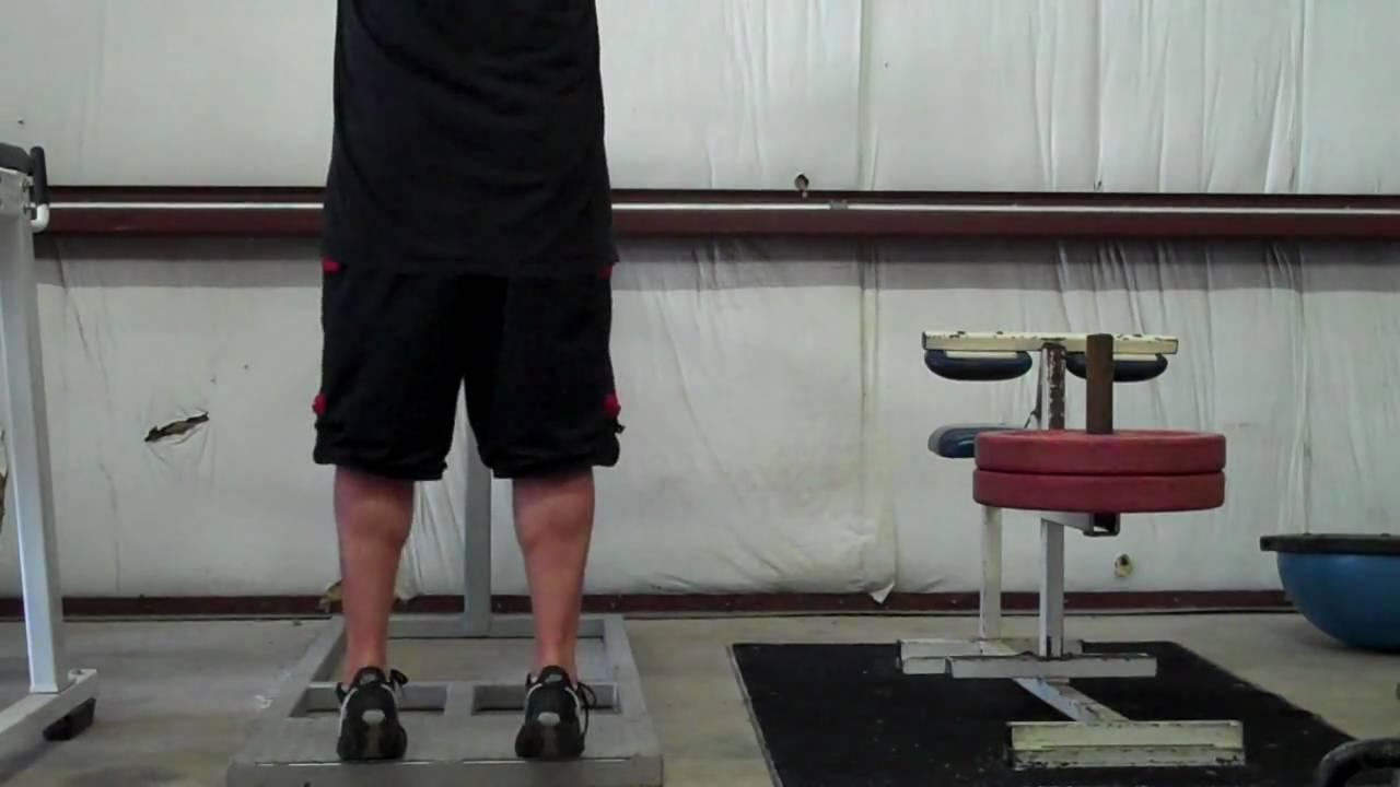 explosive calf raises jump manual