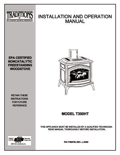enviro c-14599 pellet stove manual
