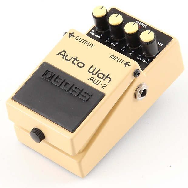 show pdf manual for boss aw-2 pedal
