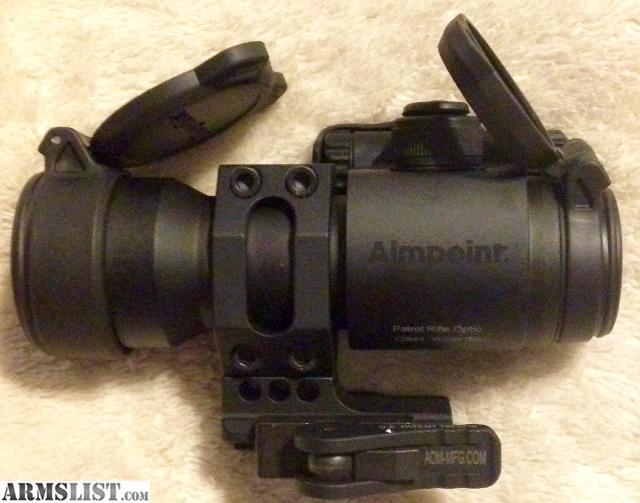 aimpoint patrol rifle optic manual