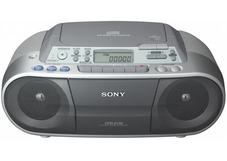 sony mega bass model icf-cs660 user manual