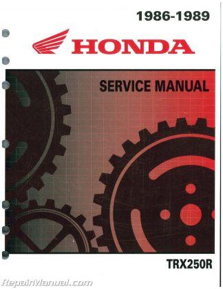 1992 honda trx 300 manual