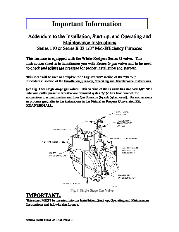 carrier fb4cnf048l00 operating and maintenance manuals