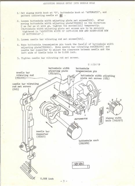 681 sewing machine service manual