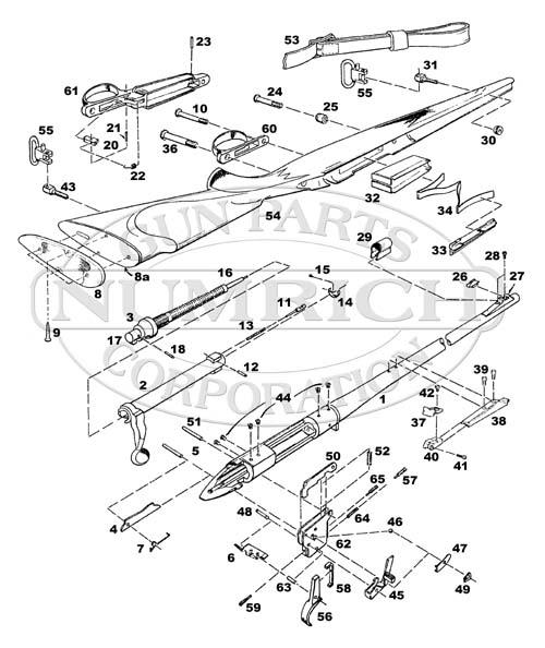 remington airmaster 77 parts manual