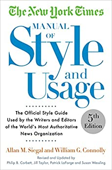 style manual for authors editors and printers 5th edition