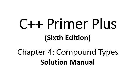 wiley sixth edition chapter 4 solutions manual