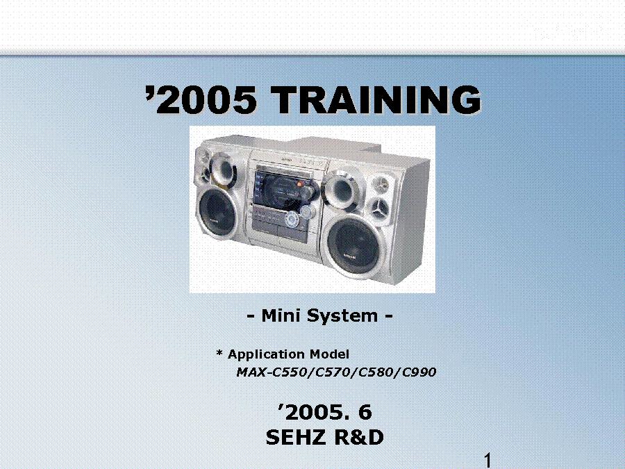 samsung ht c450 service manual