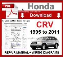 honda crv 1998 manual download