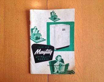 maytag gas range instruction manual