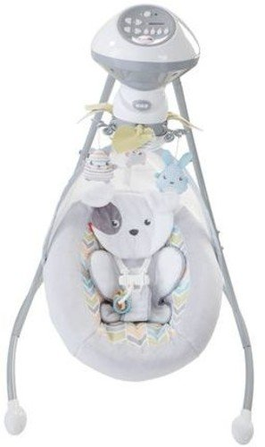 fisher price luv u zoo spacesaver swing manual