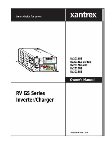 tripp lite rv inverter charger manual