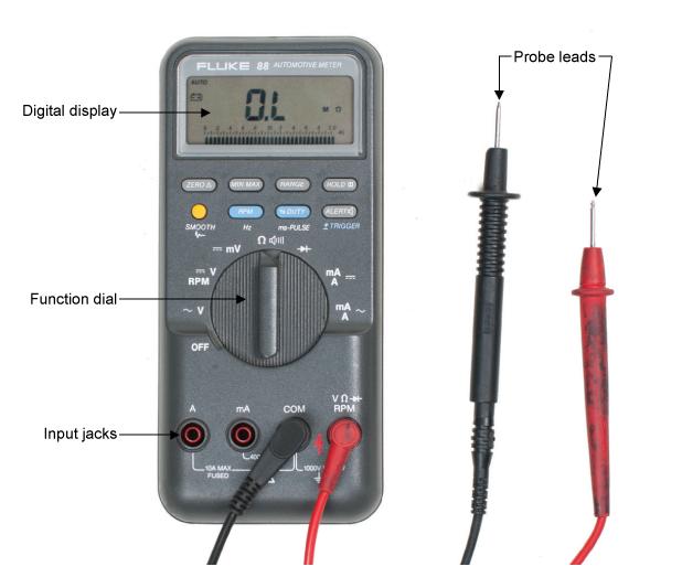 auto ranging digital multimeter vs manual