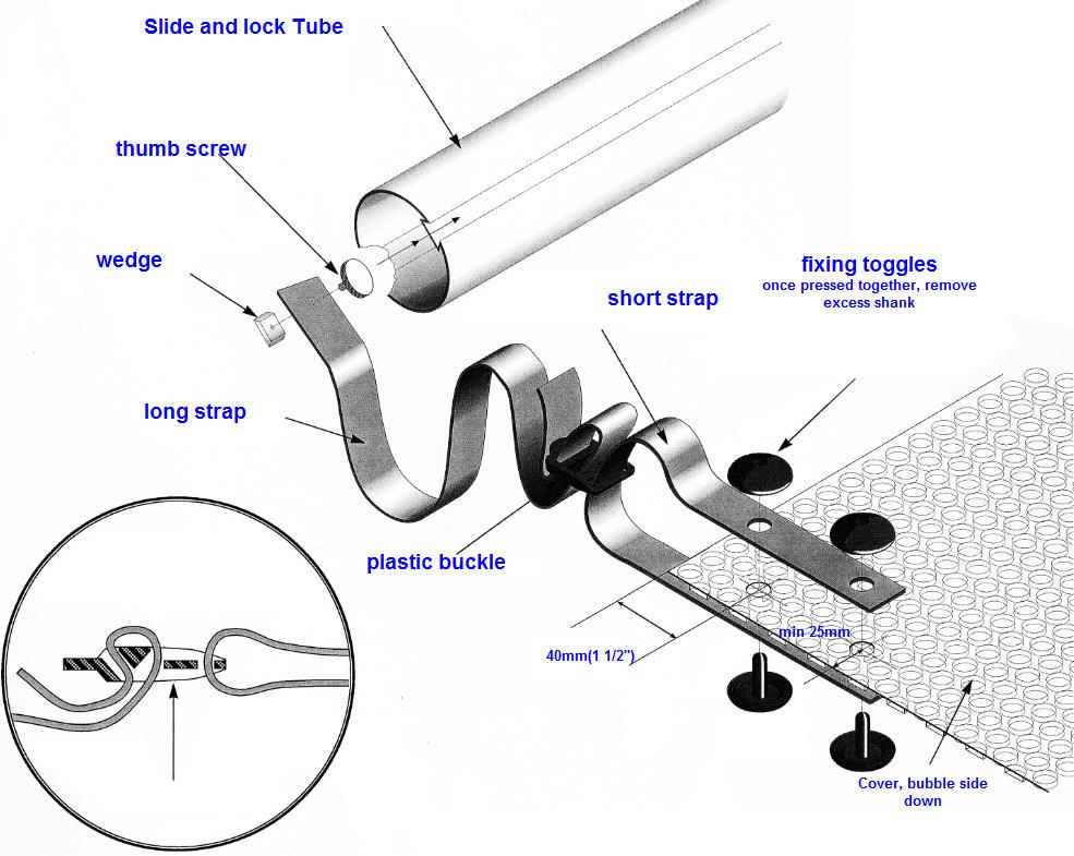 humpback kidney pool cover roller manual