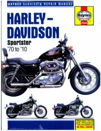 2010 harley davidson sportster 883 owners manual