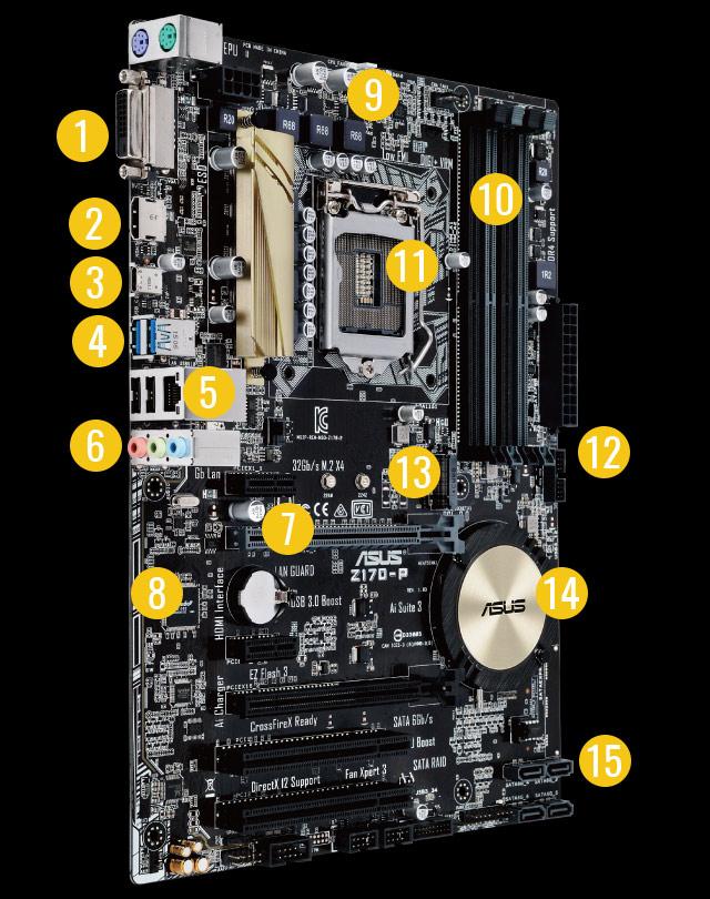 asus z170-p socket-1151 manual