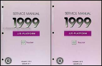 2002 chevy tracker shop manual