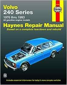 volvo 200 series v8 conversion manual