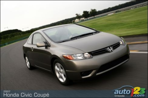 2007 honda civic dx manual coupe