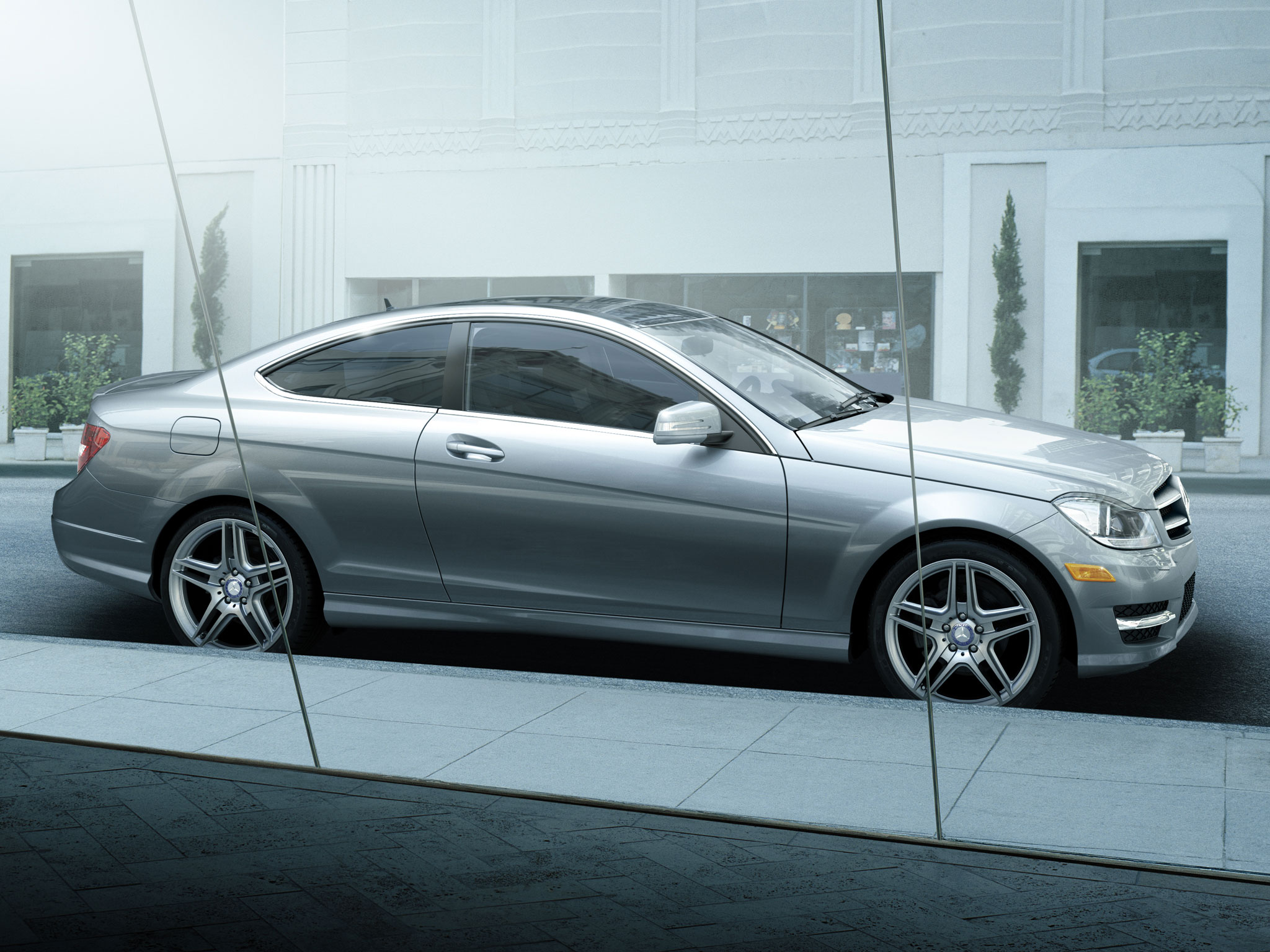 mercedes c class coupe 2013 manual