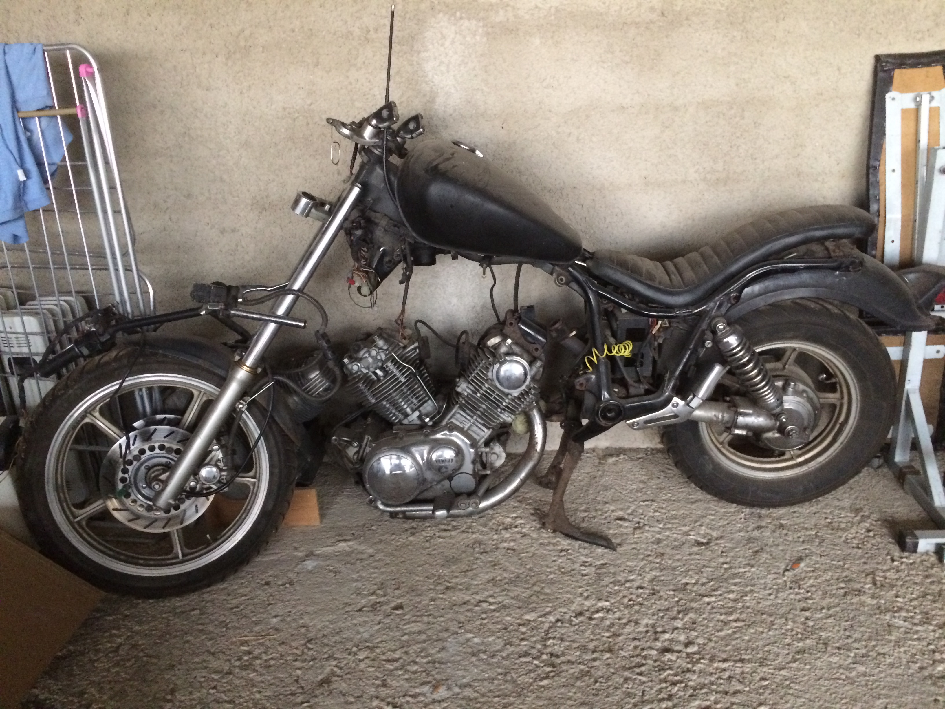 1991 yamaha virago 750 manual