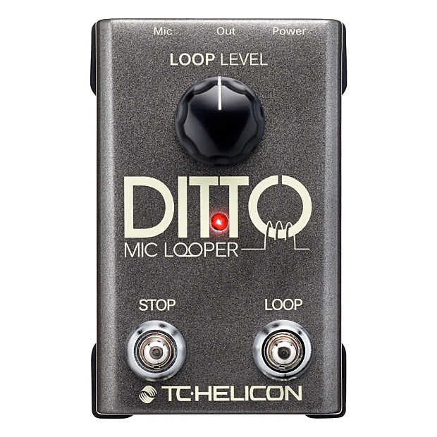 tc electronic ditto looper pedal manual