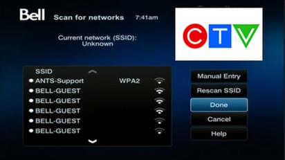 bell satellite tv wifi adapter manual