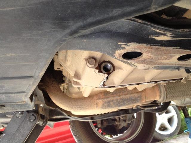 refill manual transmission fluid shifter