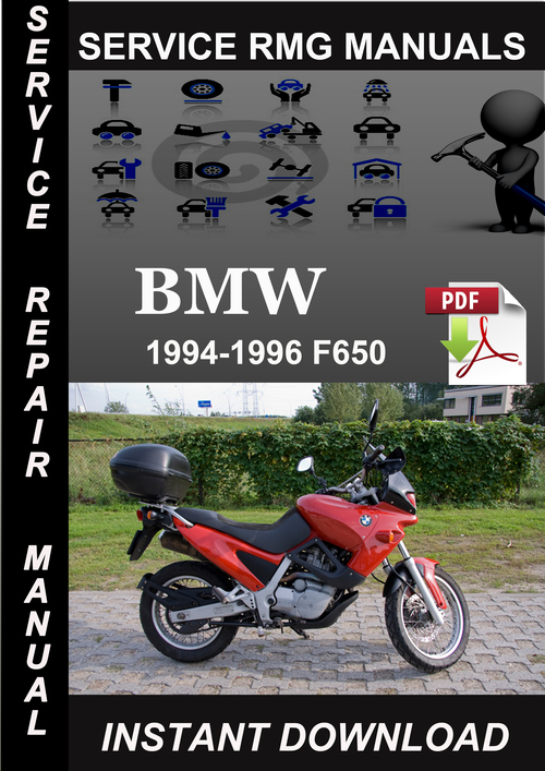 bmw f650 motorcycle service repair manual