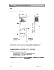 bosch 16h hydropower gas hot water system manual